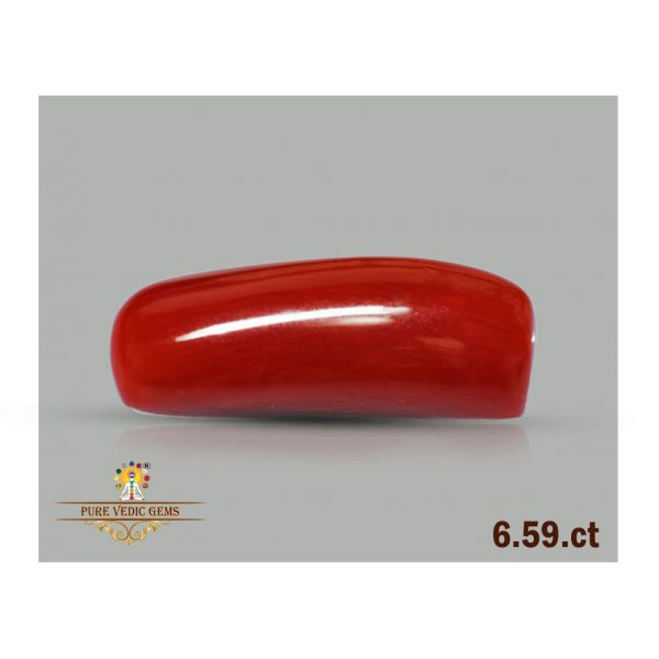 Red Coral 6.59ct-Y141