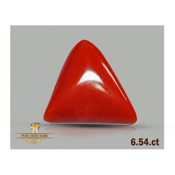 Red Coral 6.54ct-V462