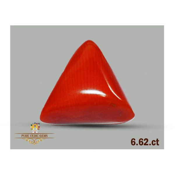 Red Coral 6.62ct-C372