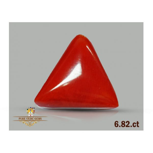 Red Coral 6.82ct-F654