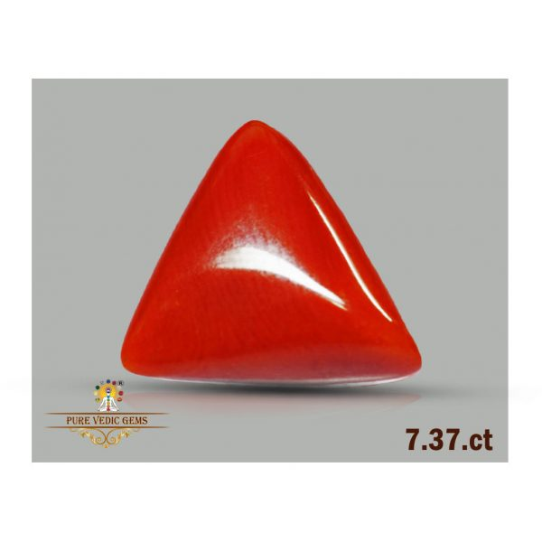 Red Coral 7.37ct-N784