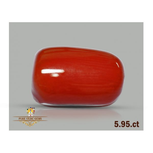 Red Coral 5.95ct-G489