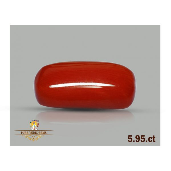 Red Coral 5.95ct-H562