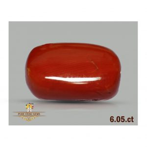 Red Coral 6.05ct-D929