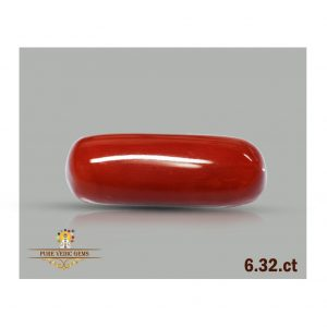 Red Coral 6.32ct-S287