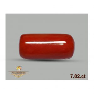 Red Coral 7.02ct-C117