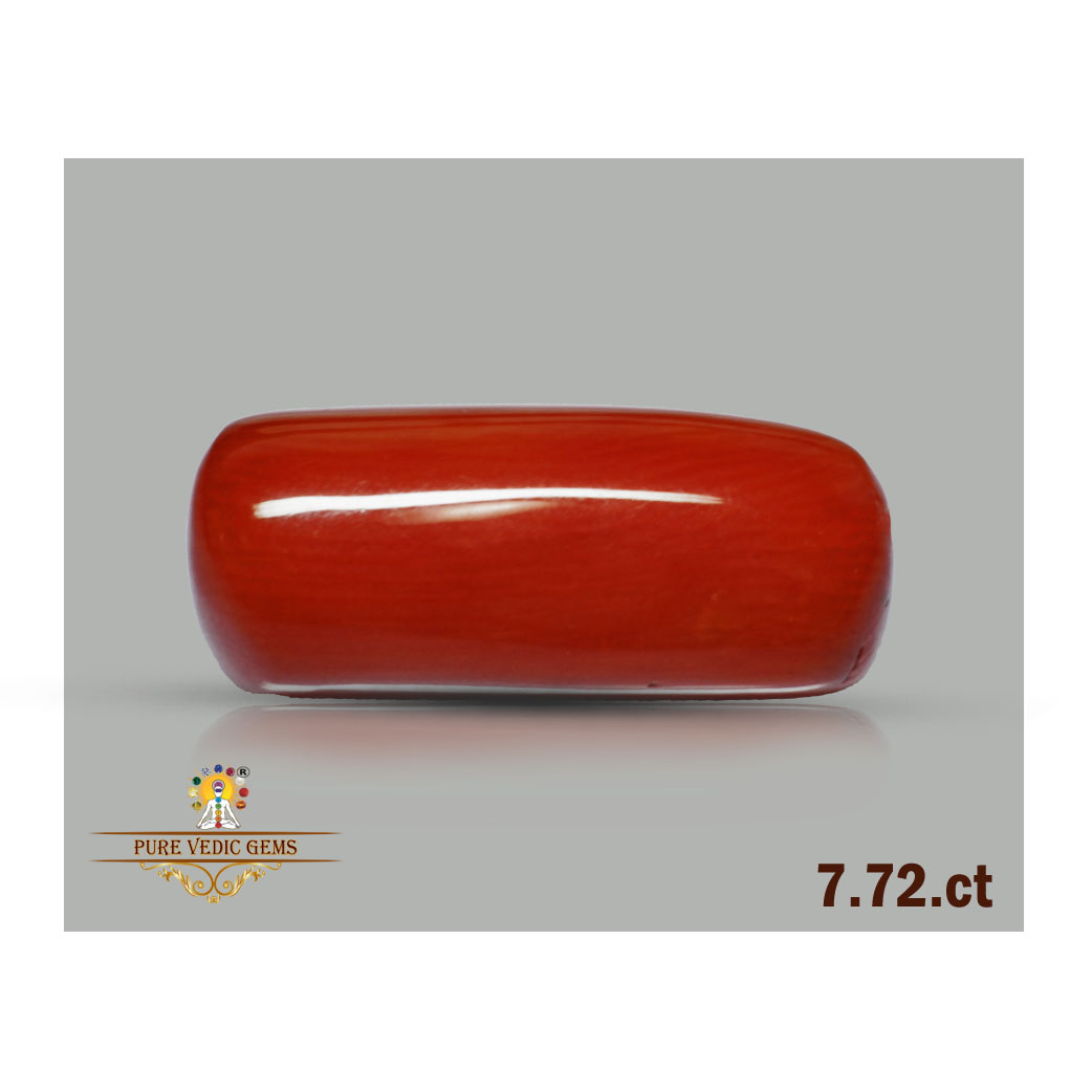 Red Coral 7.72ct-O969